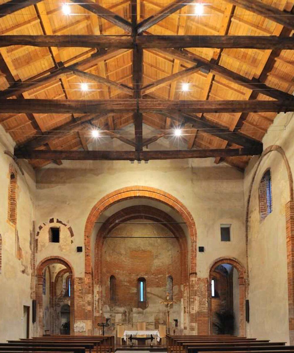 Church of Santa Maria Rossa - main project view