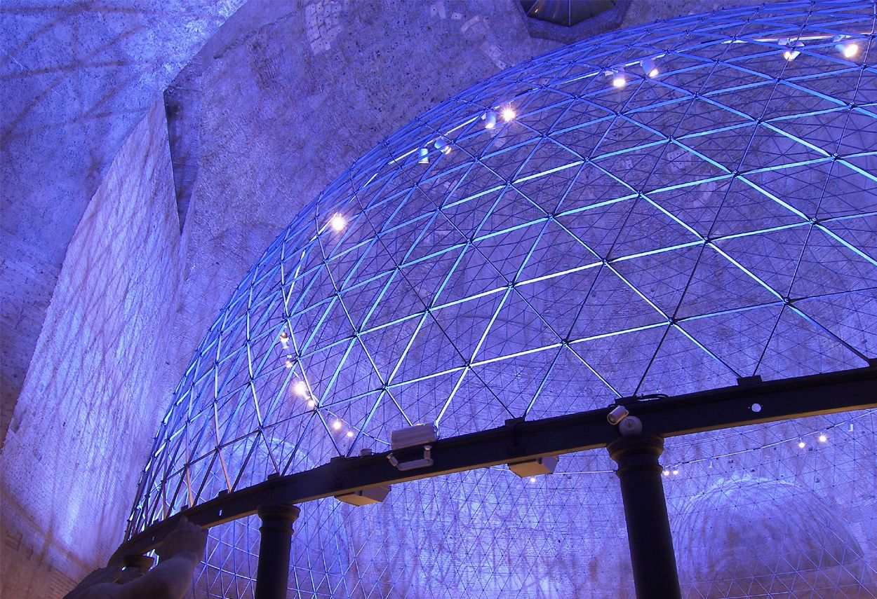 Planetarium Baths of Diocletian - main project view