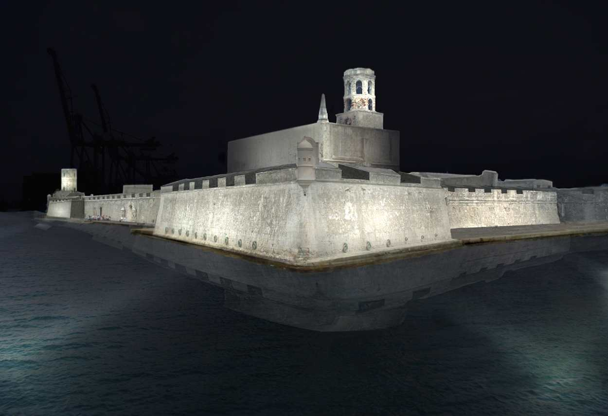 Veracruz Fortaleza de San Juan de Ulua - main project view