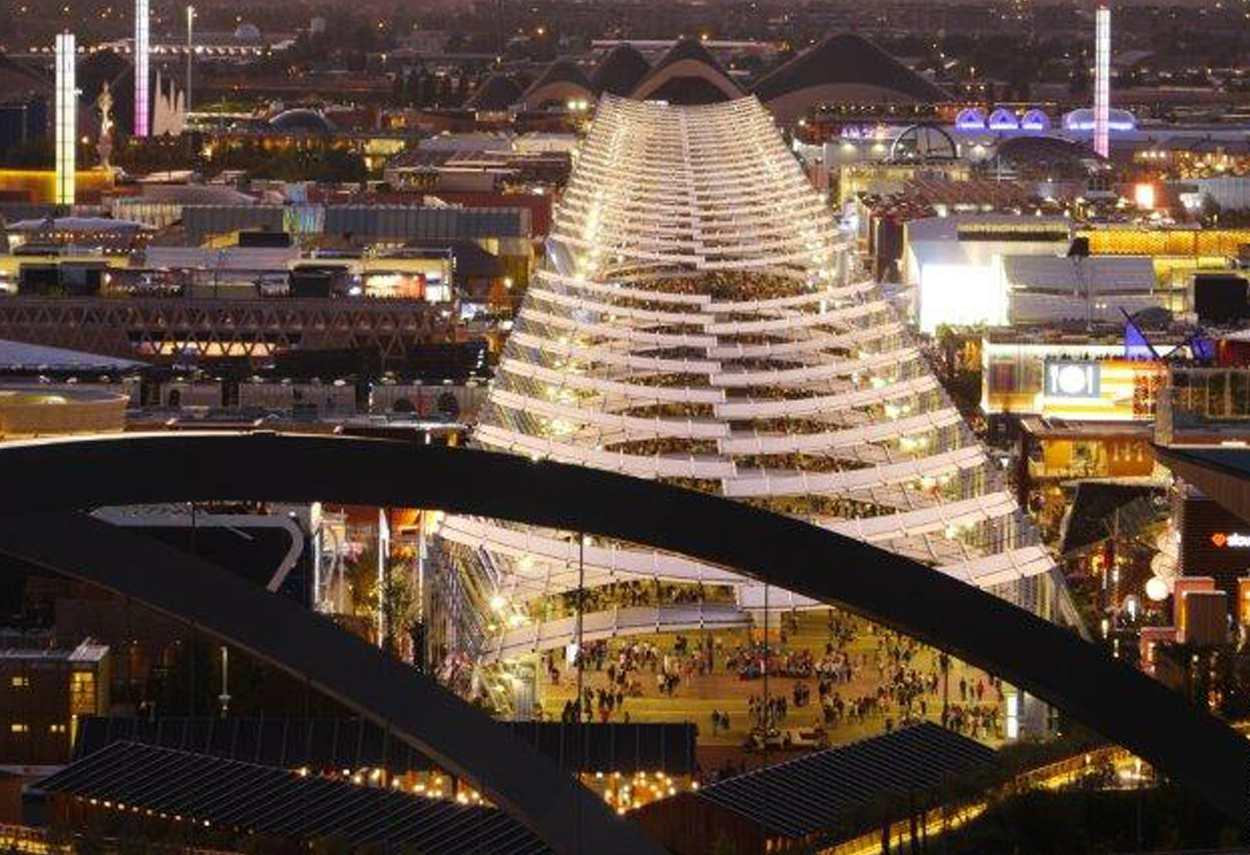 Expo 2015 Lighting Masterplan - building lights