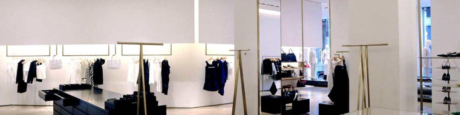 Jil Sander Showroom in Milan - main project view