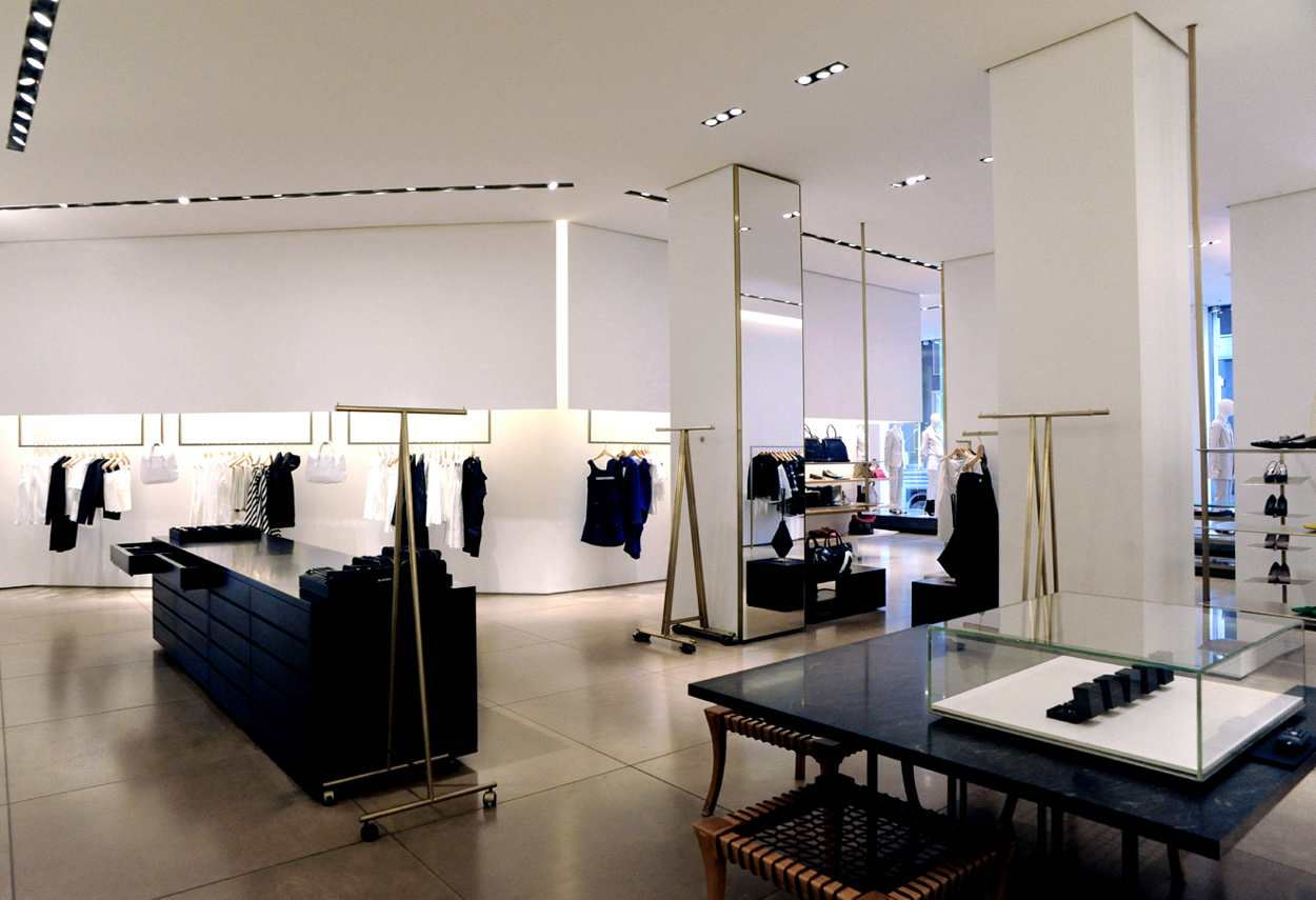 Jil Sander Showroom in Milan - main project view