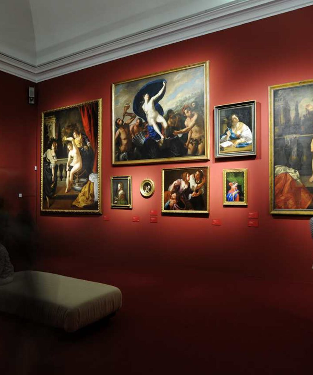 Royal Palace Artemisia Gentileschi Exhibition - main project view