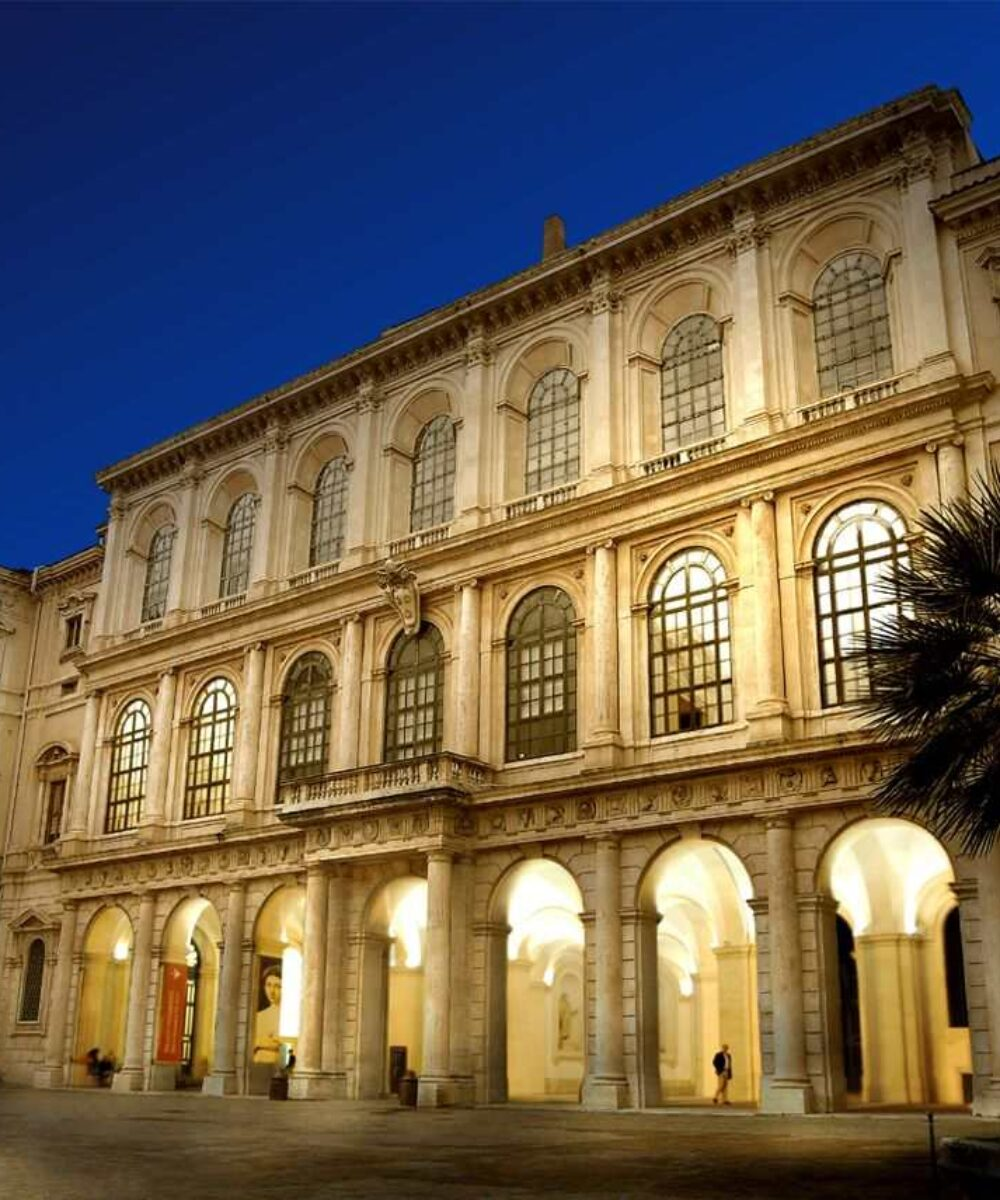 Rome Barberini Palace- main project view