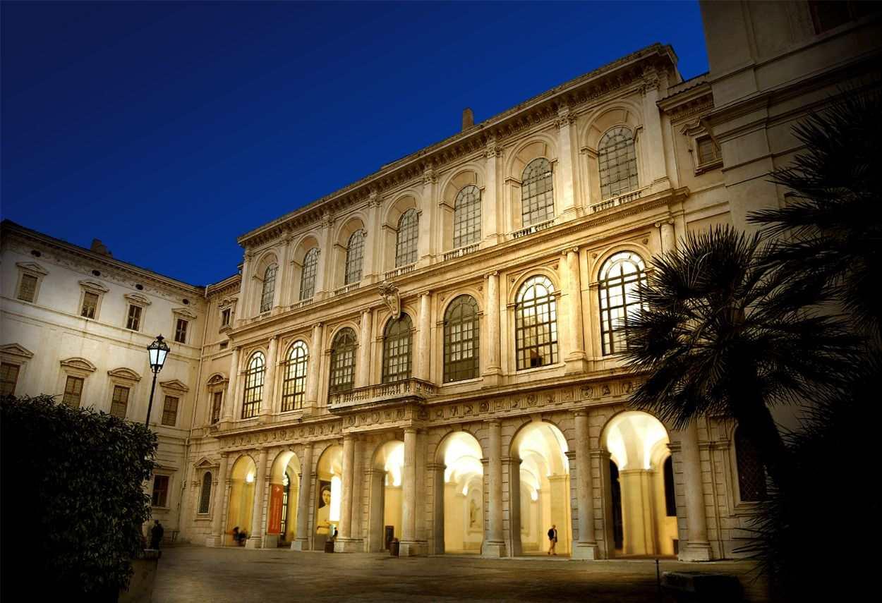 Rome Barberini Palace- main project view
