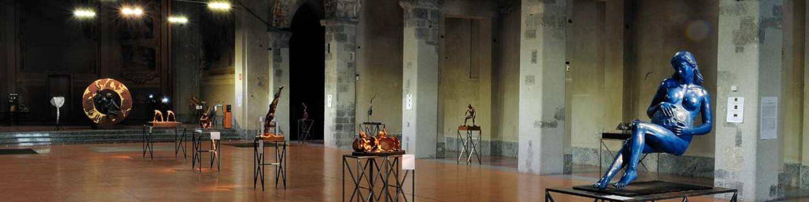 Como Ex St. Francis Church Silvano Bulgari Exhibition - main project view