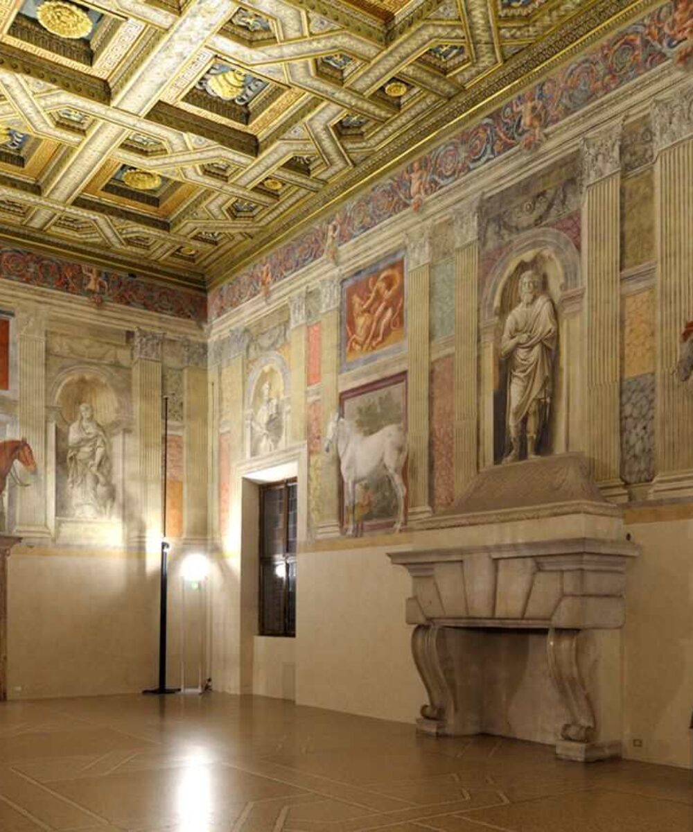 Mantova Te Palace Civic Museum - main project view
