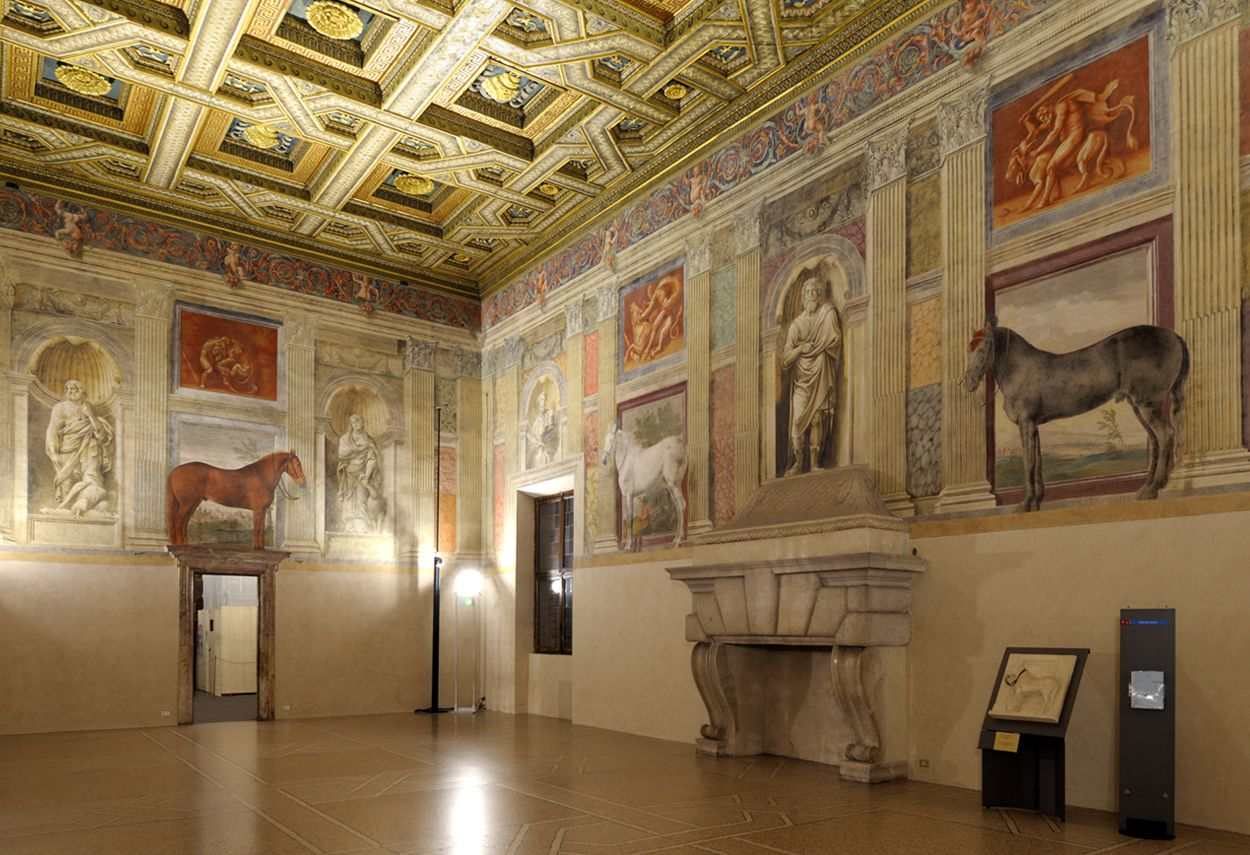 Mantova Te Palace Civic Museum - main project view