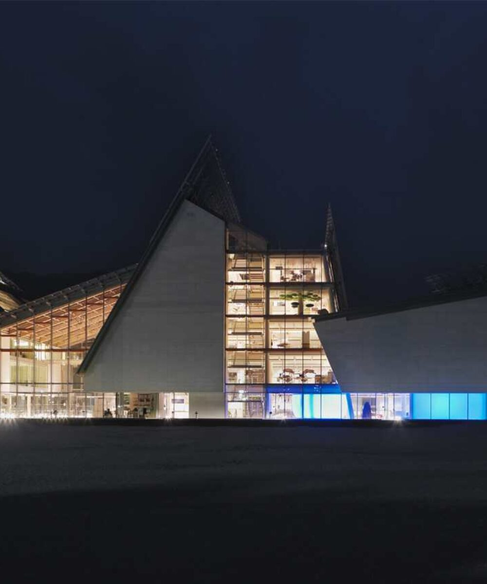 Trento MUSE Science Museum - main project view