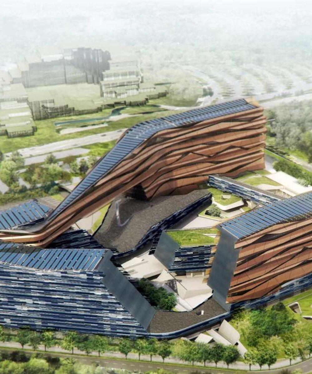 San Donato ENI Headquarters - main project view