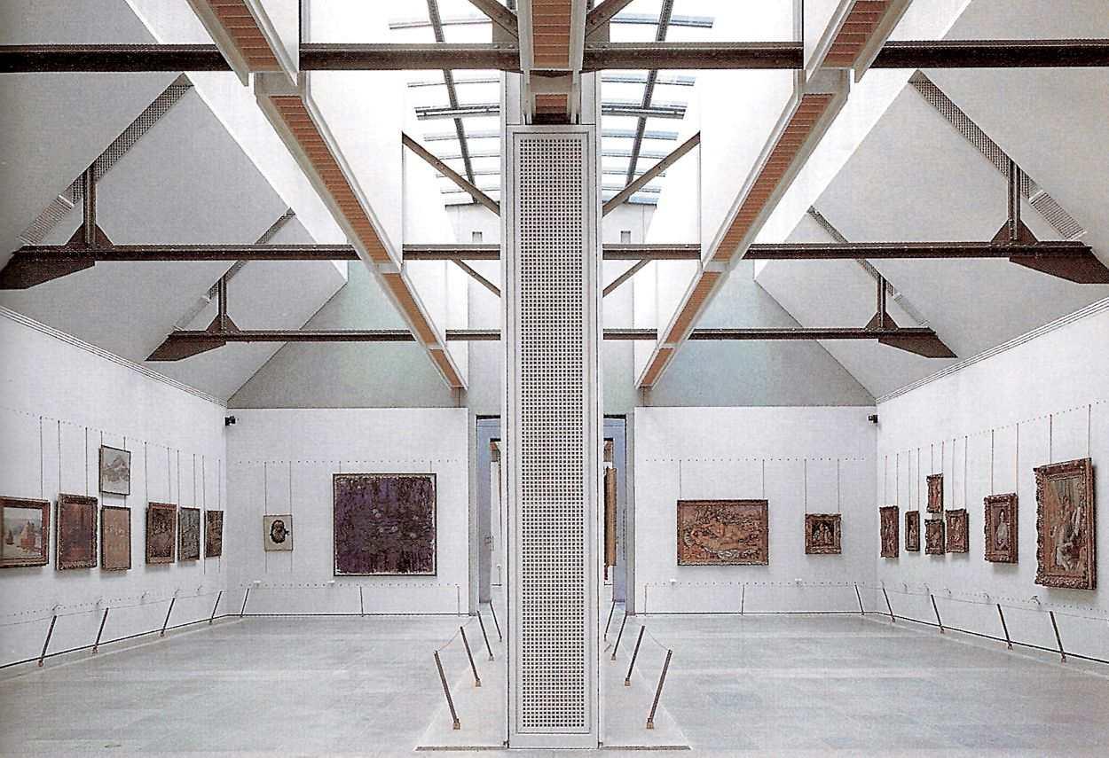 Museo d'Orsay Paris exhibition room - master