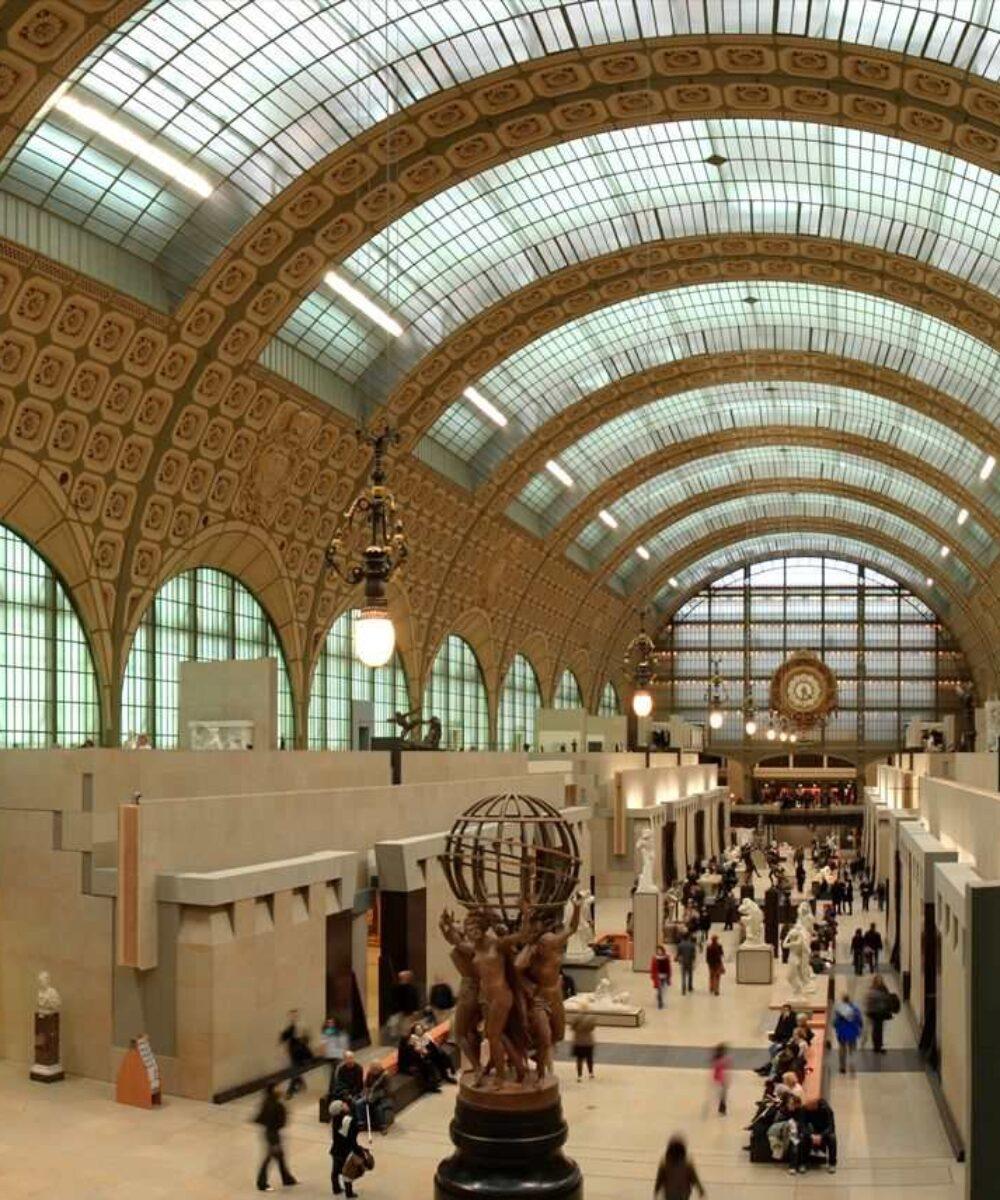 Museo d'Orsay Paris frontal view - master