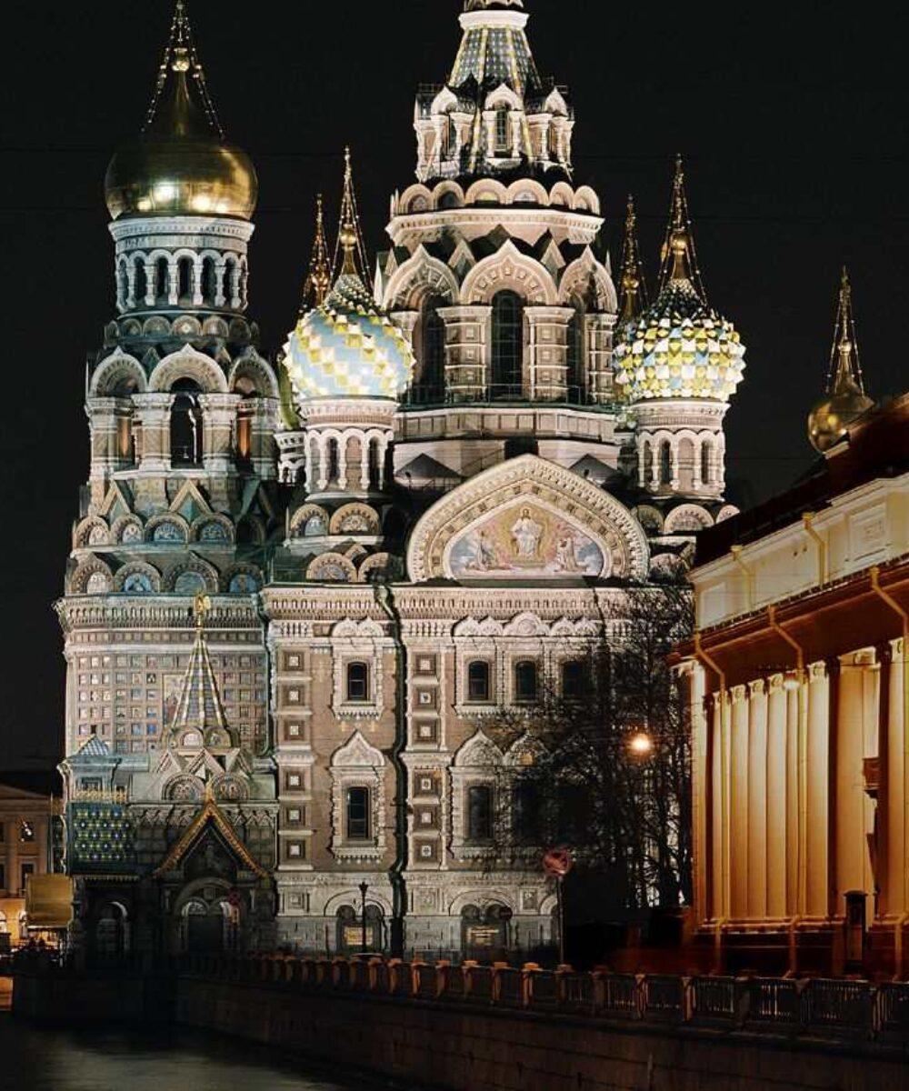 St. Petersburg Spasa na Krovi outdoor lighting - master