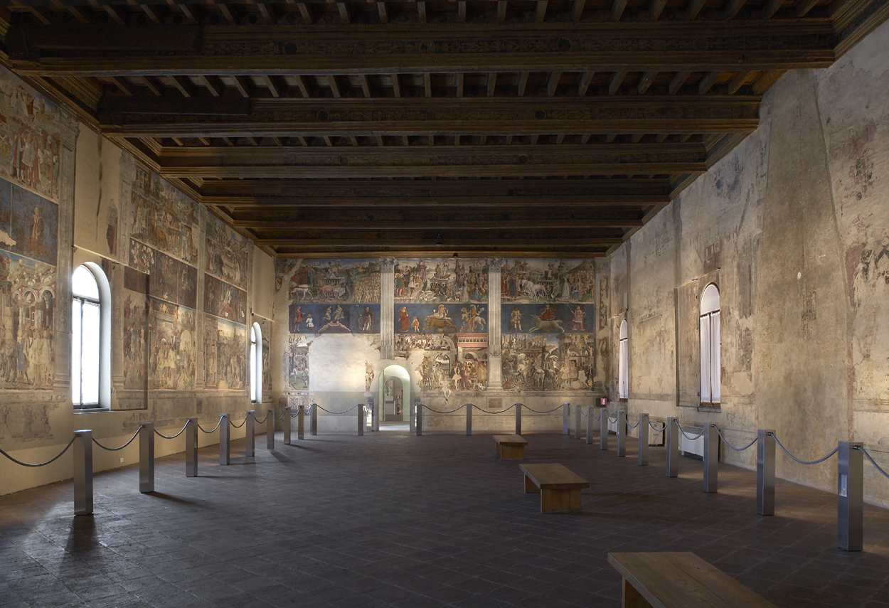 Schifanoia Palace The Months Hall main view - building lighting design