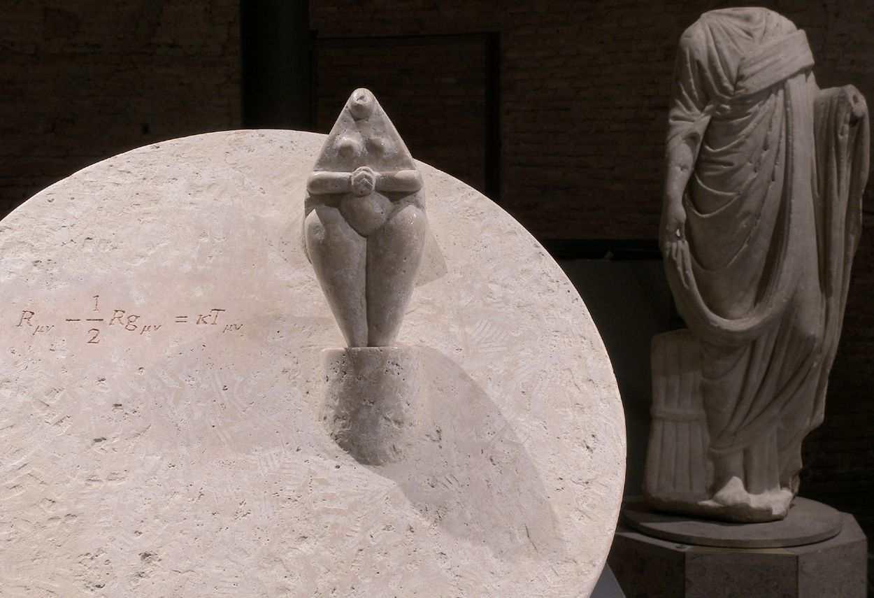 Baths of Diocletian I Segreti del Cielo Cascella Exhibition main opera - museum lighting design