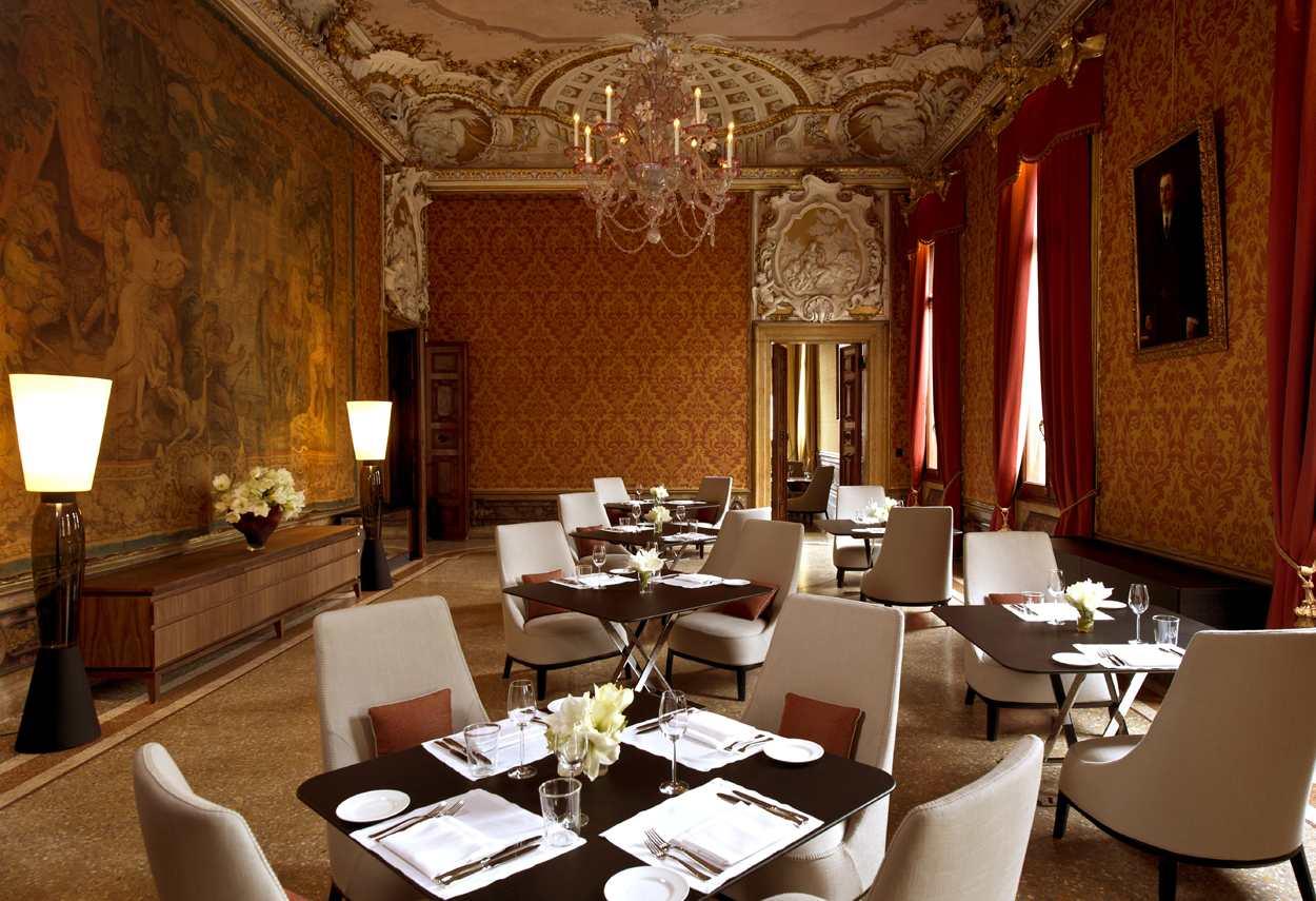 Venezia Papadopoli Palace Aman Resorts relax room - architectural outdoor lighting