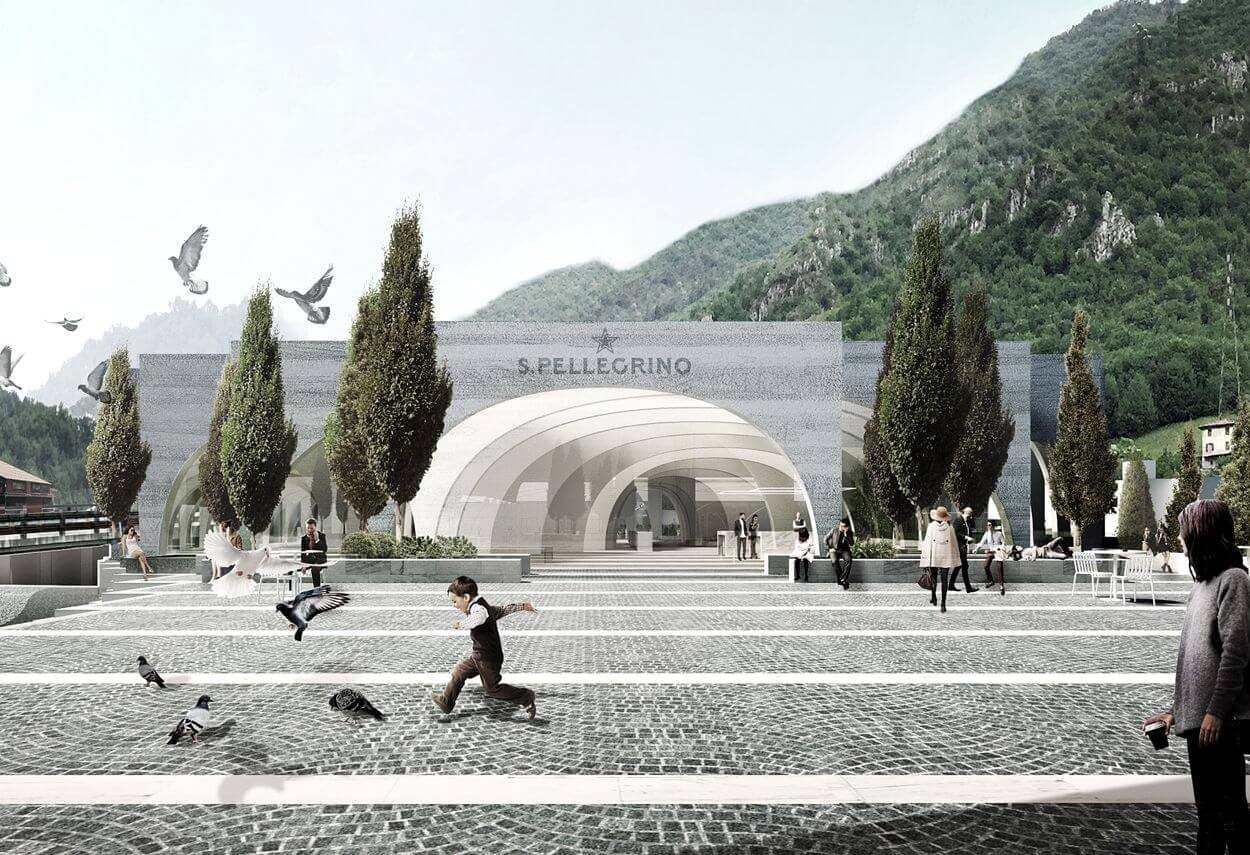 San Pellegrino Headquarters: Lighting by Marco Petrucci