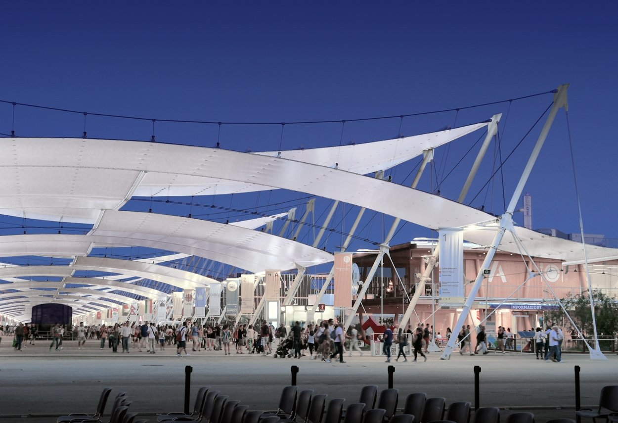 Expo 2015 in Milan Lighting Masterplan