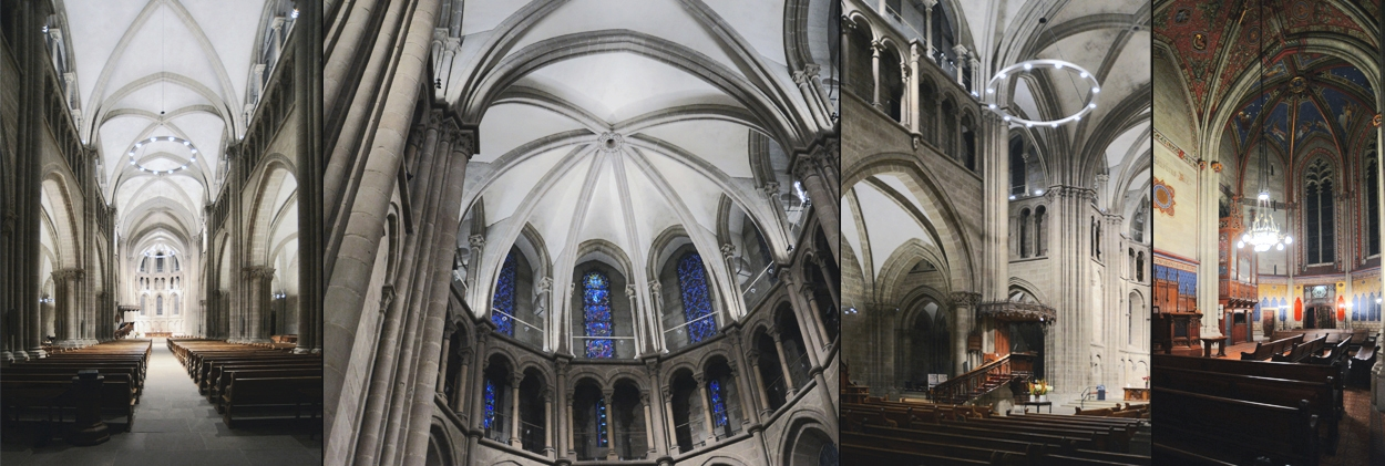 Ginevra Cattedrale St Pierre - project views