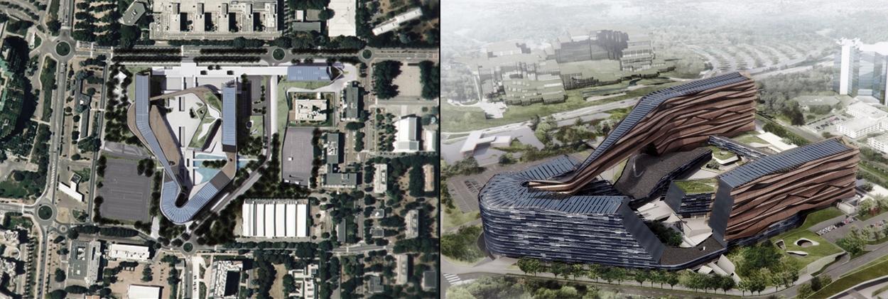 Milan San Donato ENI Headquarters project views