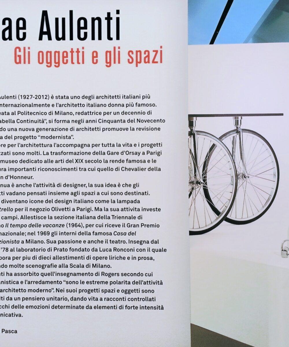 Palace Gae Aulenti Exhibition: Bio of Gae Aulenti