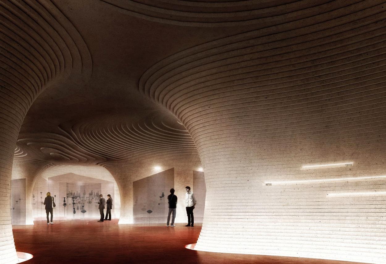 Luigi Rovati Foundation in Milan - project lighting