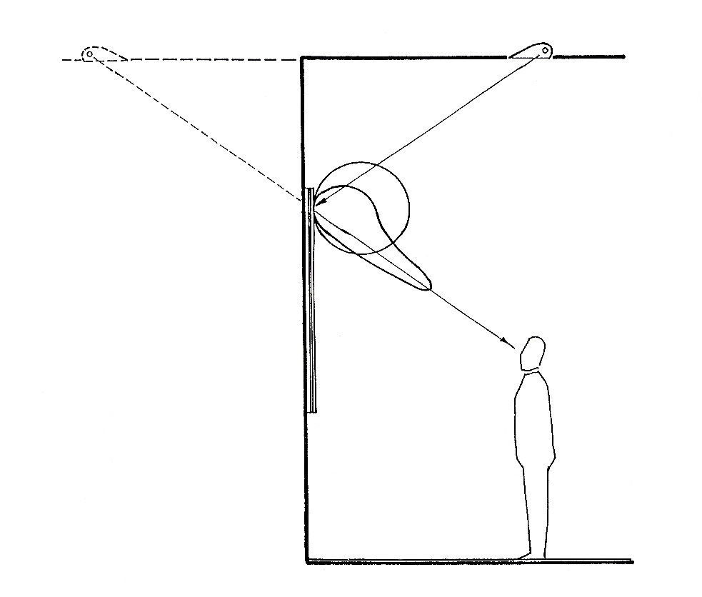 sketch of glare effect