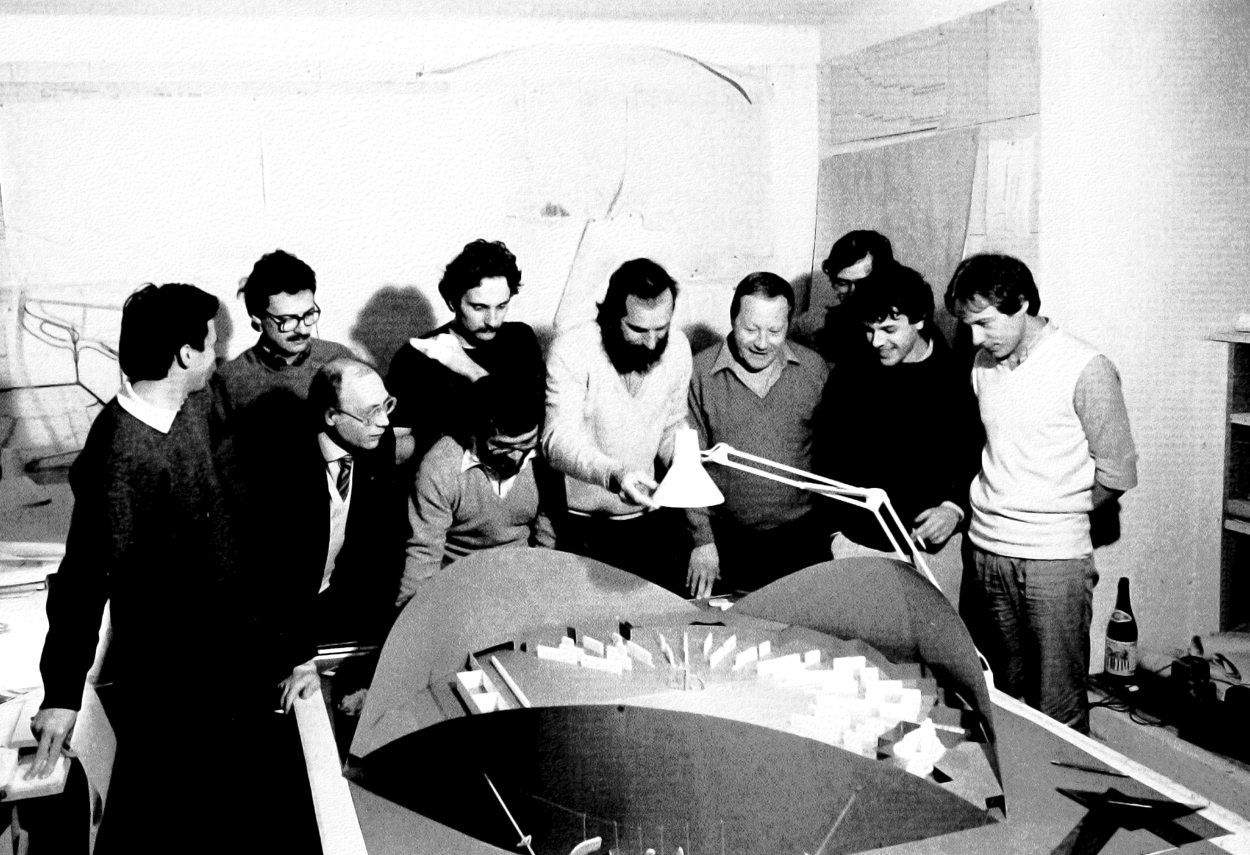 Archive photo of the Renzo Piano Foundation