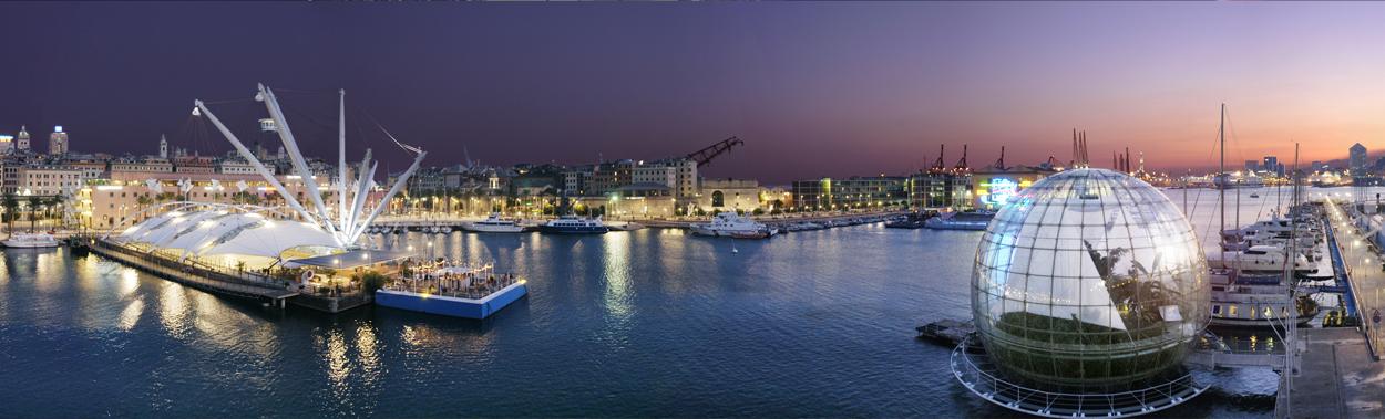 The Ancient Port of Genoa