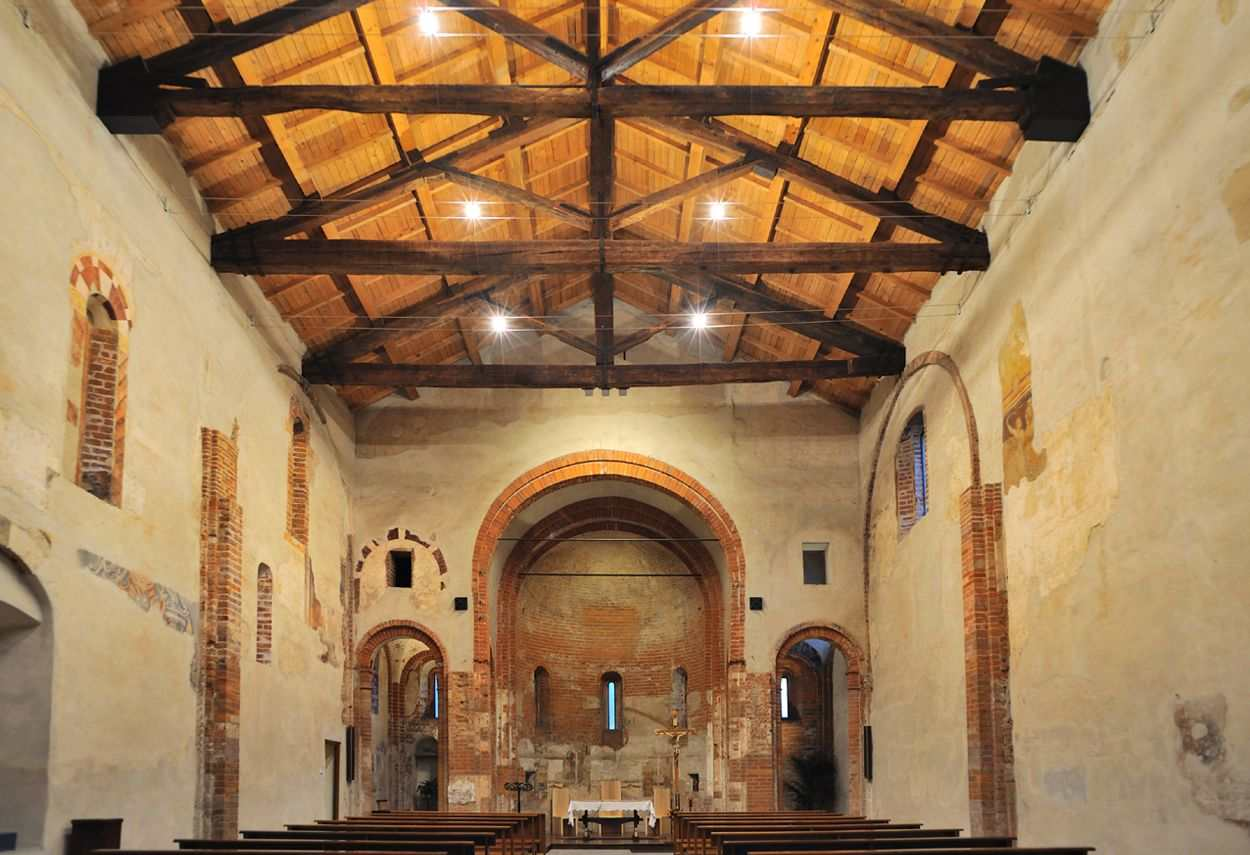 Church of Santa Maria Rossa illuminazione soffitto - Design Luce