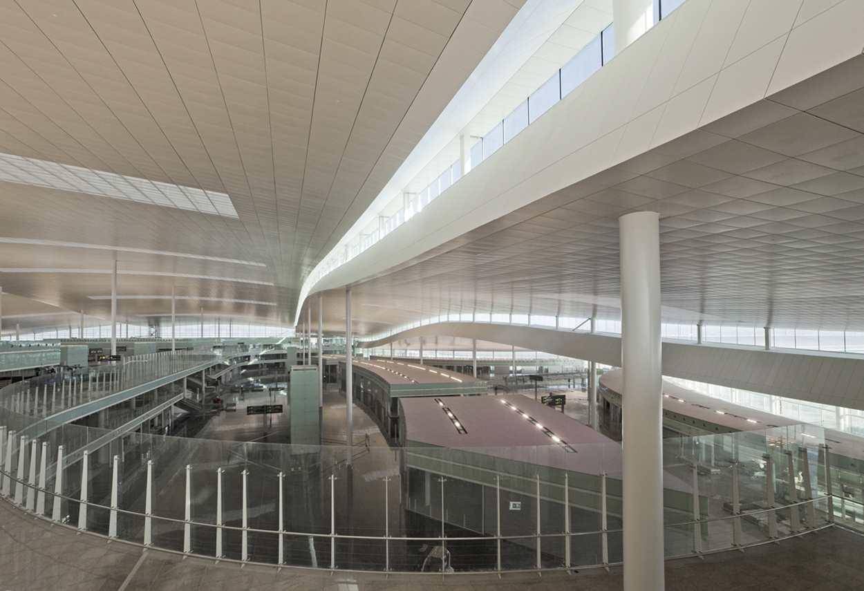 El Prat Airport vista d'insieme - Design Luce