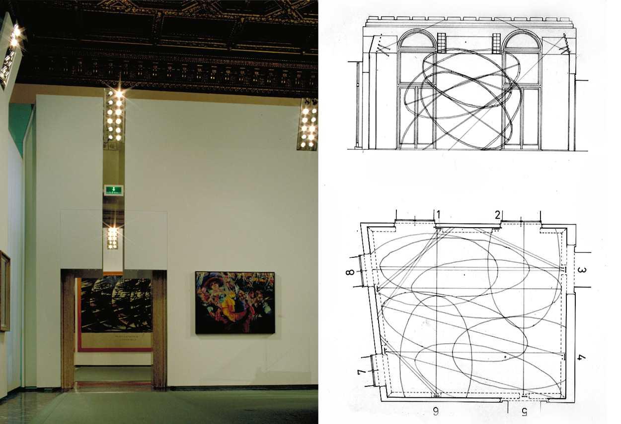 Venice Grassi Palace schemi di illuminazione - master