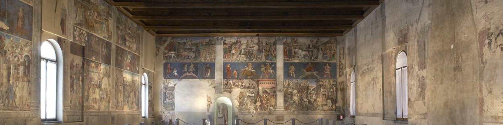 Schifanoia Palace The Months Hall sala grande - illuminazione musei