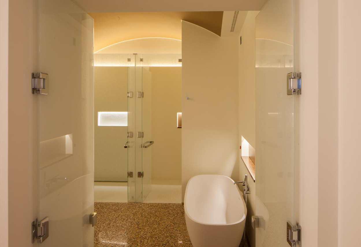 Papadopoli Palace Aman Resorts bagno - Illuminazione architetturale