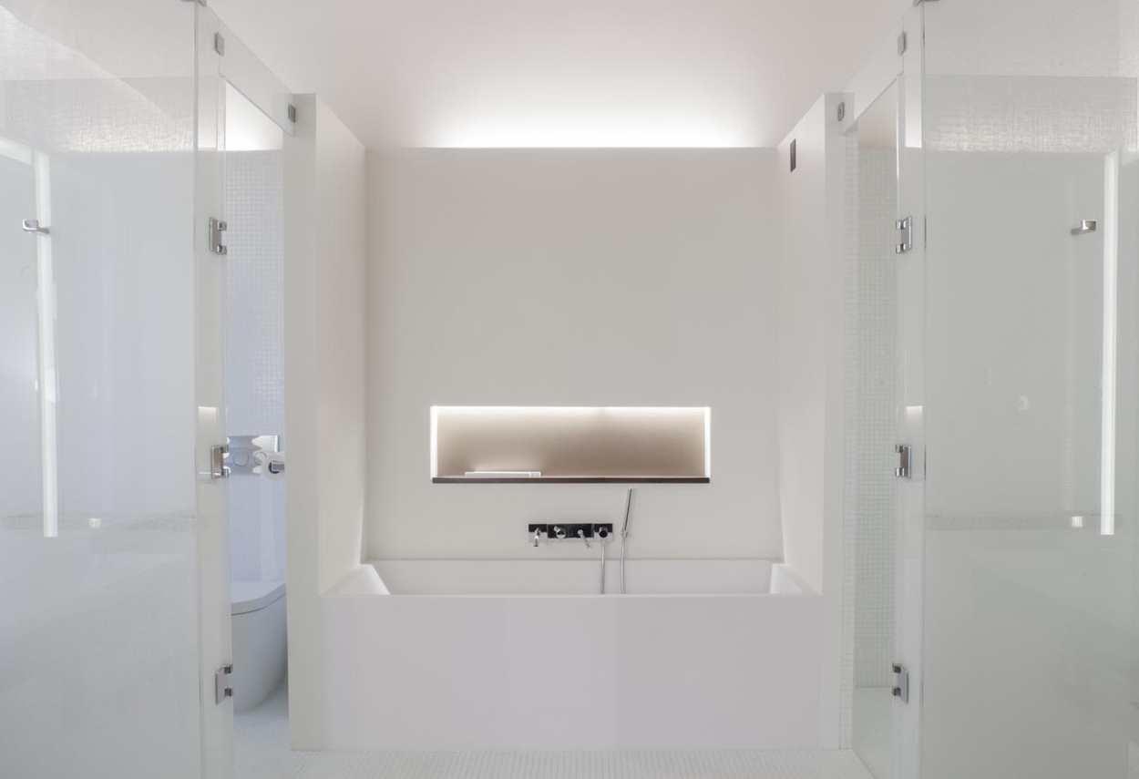 Papadopoli Palace Aman Resorts dettaglio vasca da bagno - Illuminazione architetturale