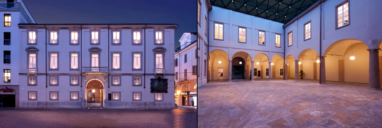 Alessandria Palazzo Vetus - illuminazione architetturale