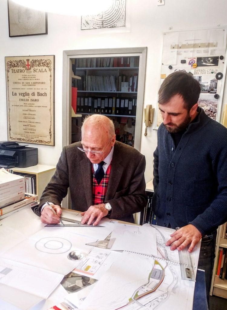 Marco Petrucci e Piero Castiglioni