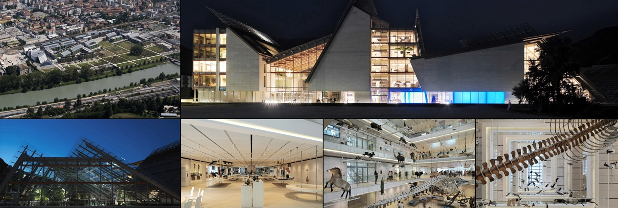 Trento Science Museum - insieme di viste