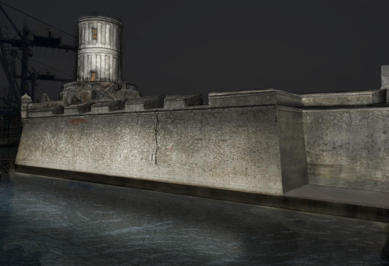 Mexico Veracruz Fortaleza de San Juan de Ulua - Design Luce