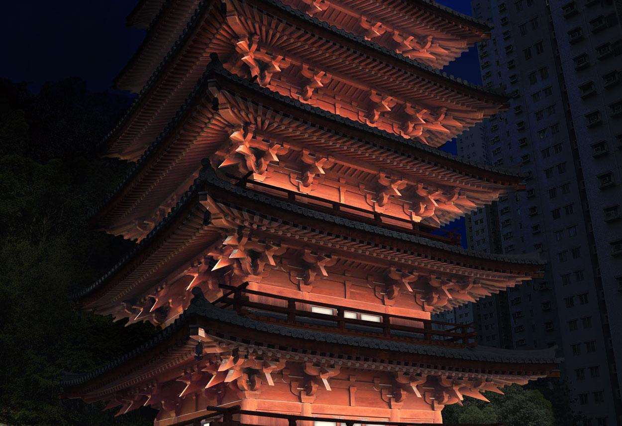 Hong Kong Chin Li Pagoda