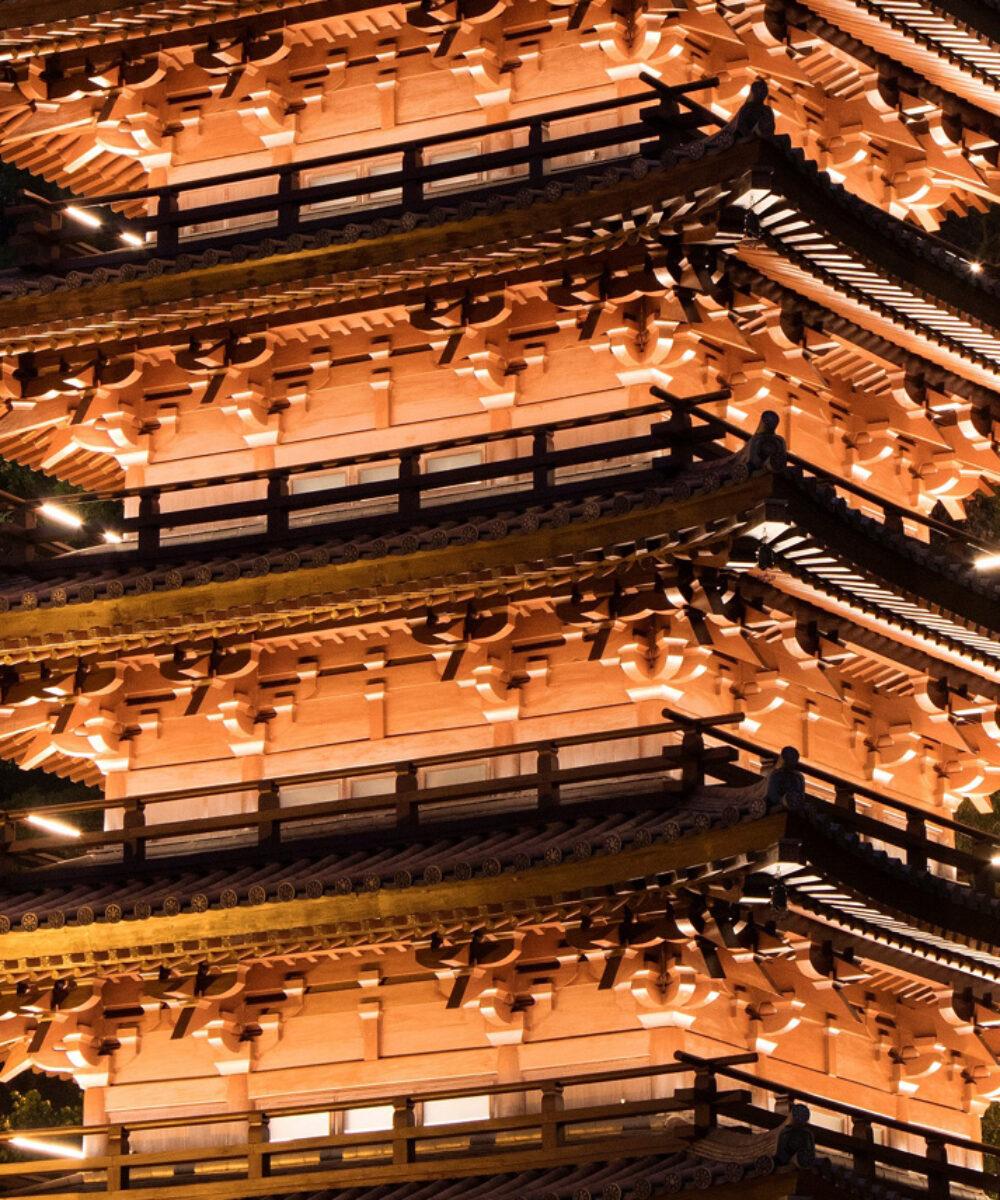 Cina Hong Kong Chi Lin Nunnery Pagoda Buddista