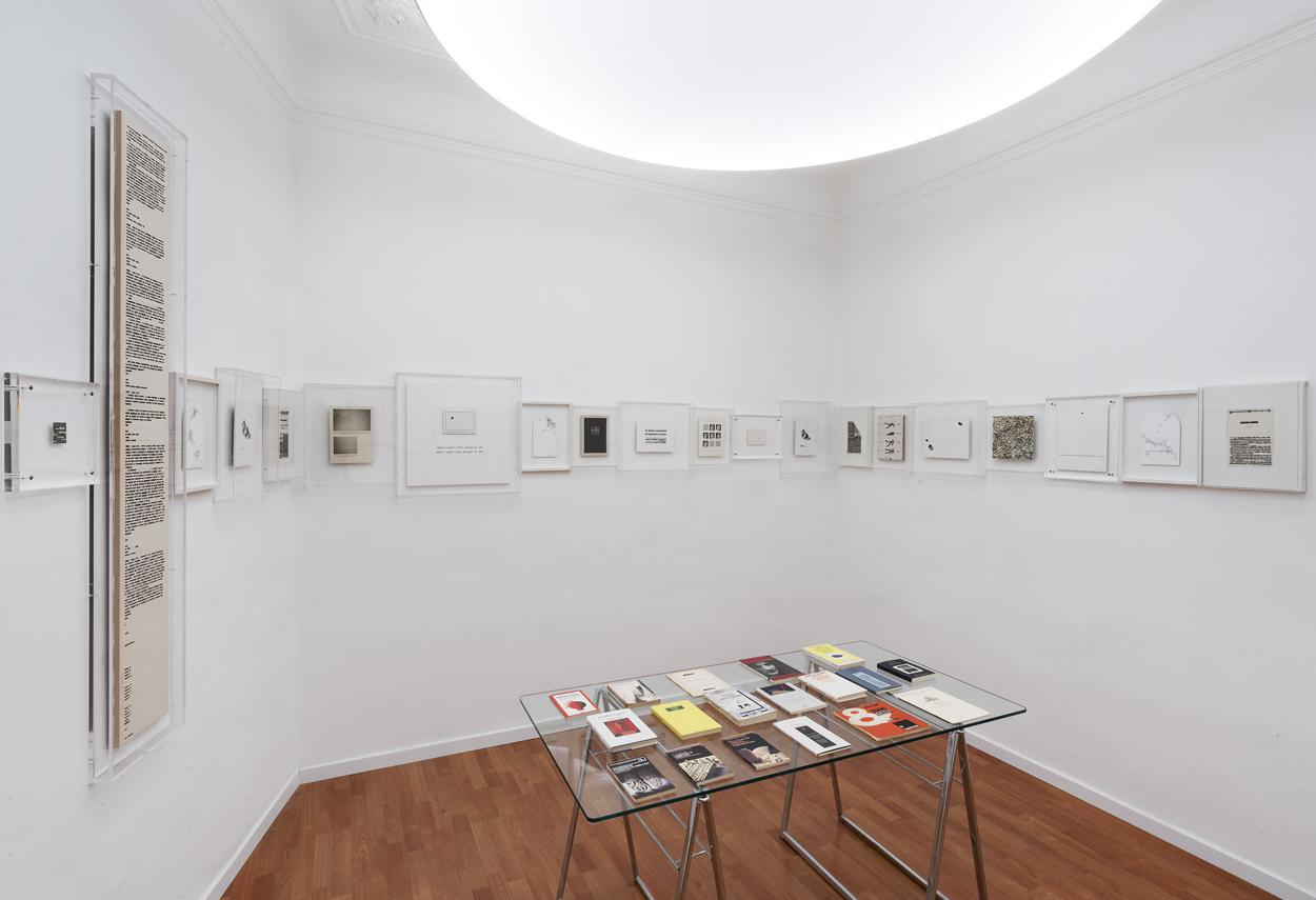 Dettaglio dell'illuminazione adottata in una sala espositiva