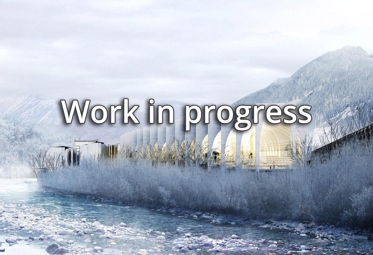 Work in Progress slide