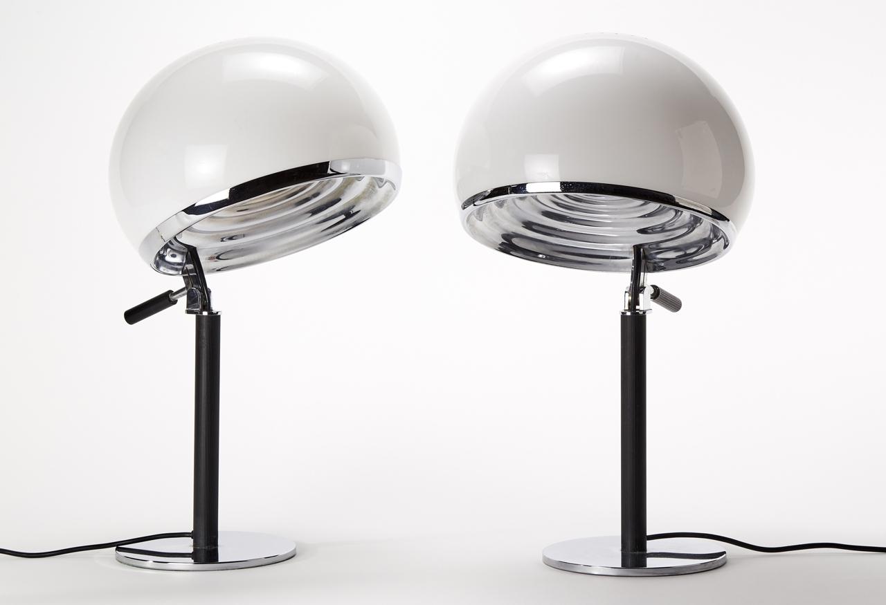 """1960 - Lampada da tavolo """"Bino"""" per Candle – Gregotti, Meneghetti e Stoppini"""