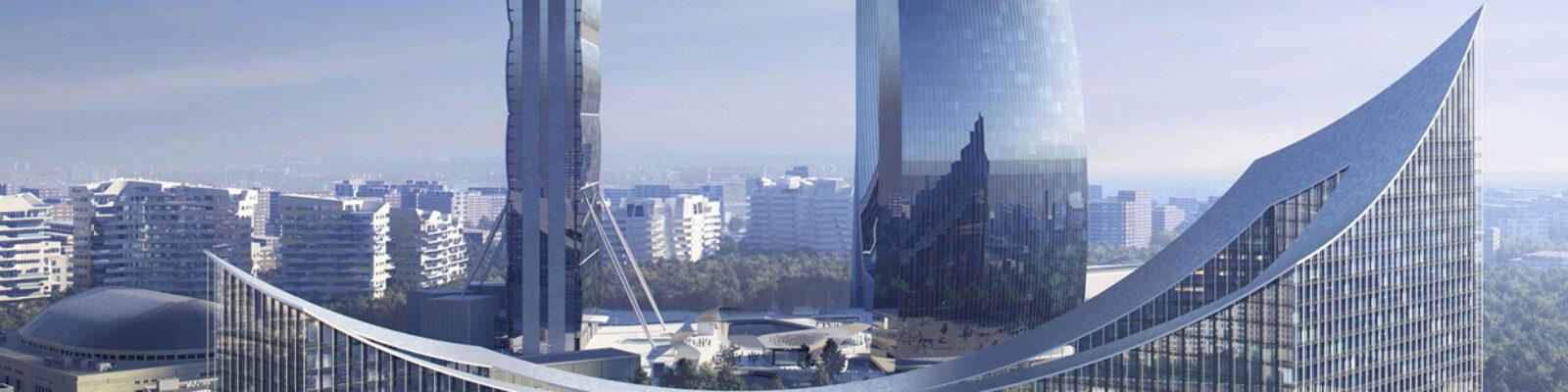 Vista d'insieme del complesso CityLife