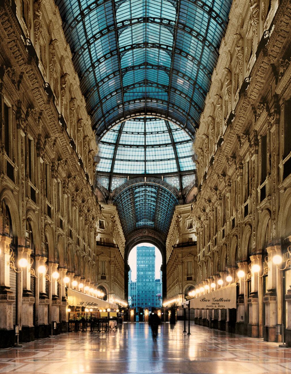Vista d'insieme della Galleria in orario diurno