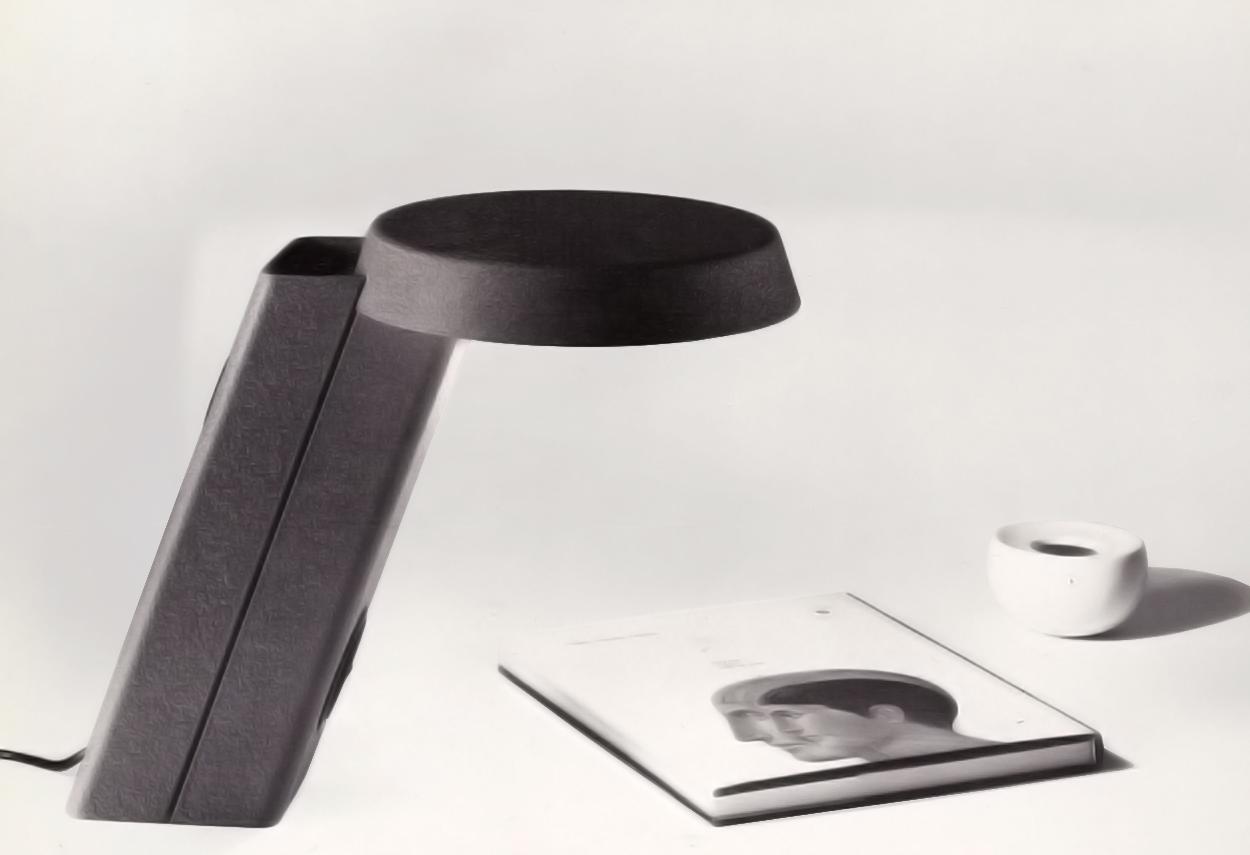 Vista di dettaglio della lampada da tavolo 607