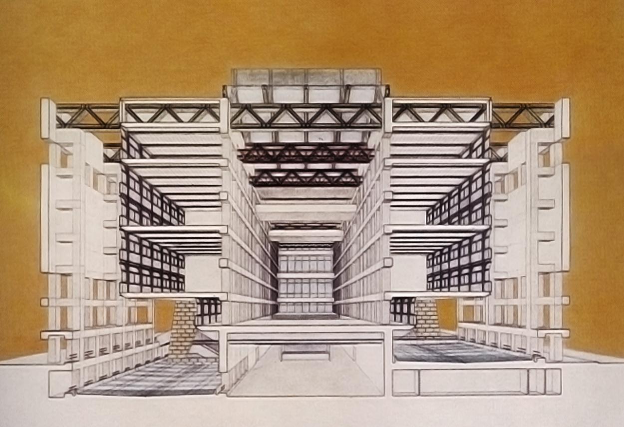 Progetto per il padiglione Italia a Expo 1992