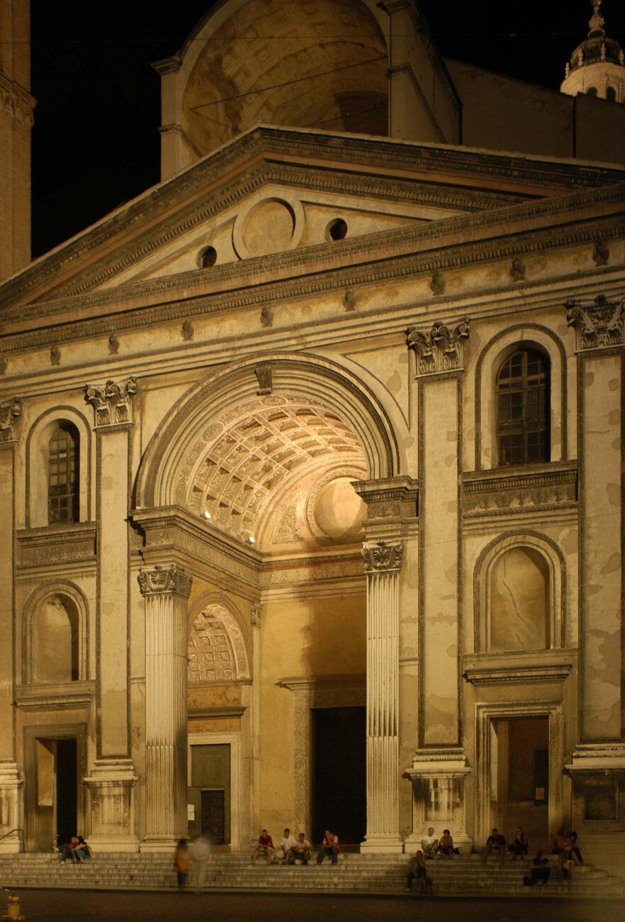 L'illuminazione dei monumenti principali del percorso gonzaghesco