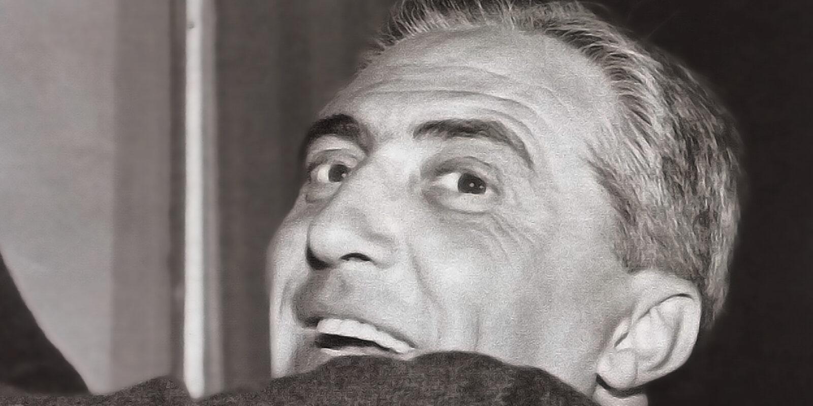 Primo piano di Gino Sarfatti